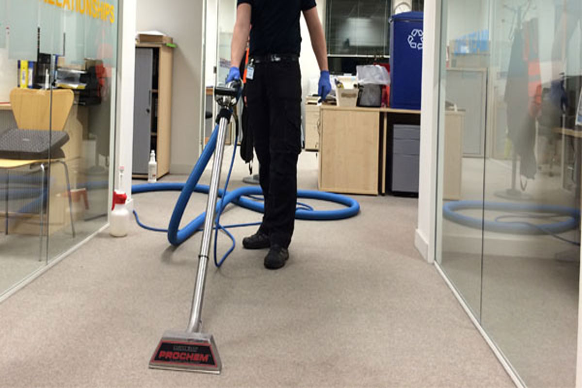 Quick Drying Commercial Carpet Cleaning